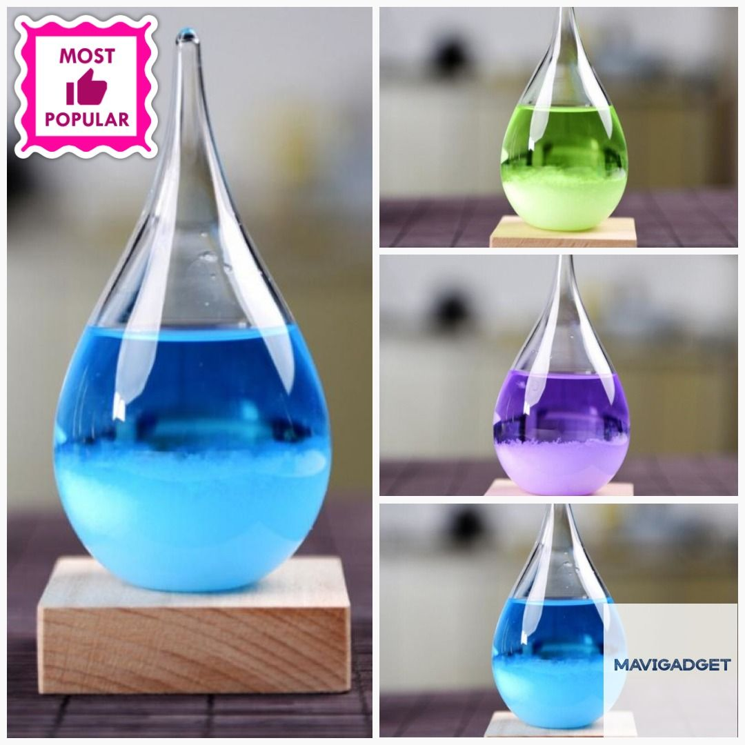 Storm Glass Forecast with Wood Base for home Decoration  #homeshopping #homedecortips #homedecoration #homedecor #decorationideas #decoration #homedecorstuff #luxuryhomedecor #homedecorstore #homeshop