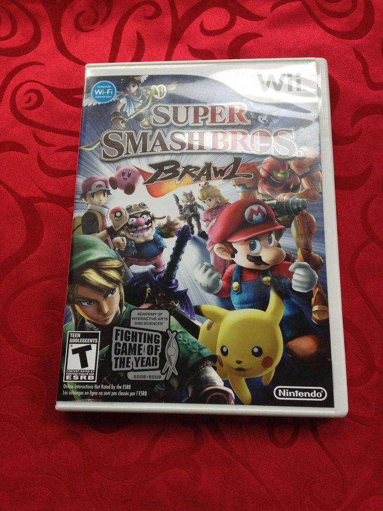 Super Smash Bros. Brawl Nintendo Wii complete w/manual