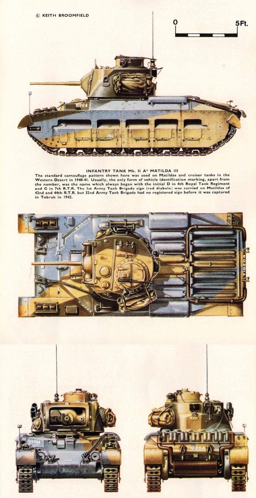 A12 Infantry Tank Mark Iia  Matilda Iii   North Afrika