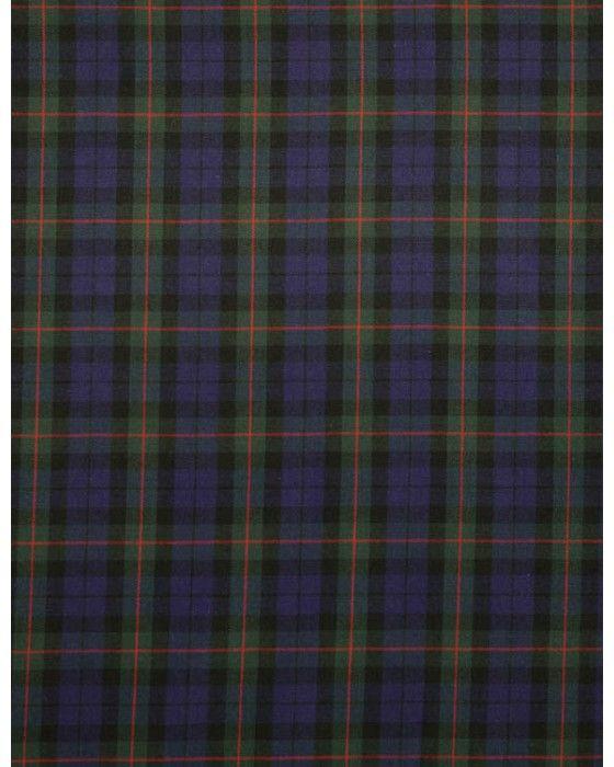 Cotton Fabric   Blue & Green Tartan   Truro Fabrics