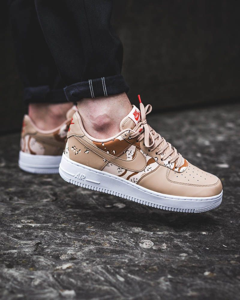 Air Force Ones AF1 '07 LV8, Half CamoHalf Beige