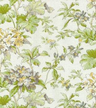 Waverly Upholstery Fabric-Fawn Hill Platinum