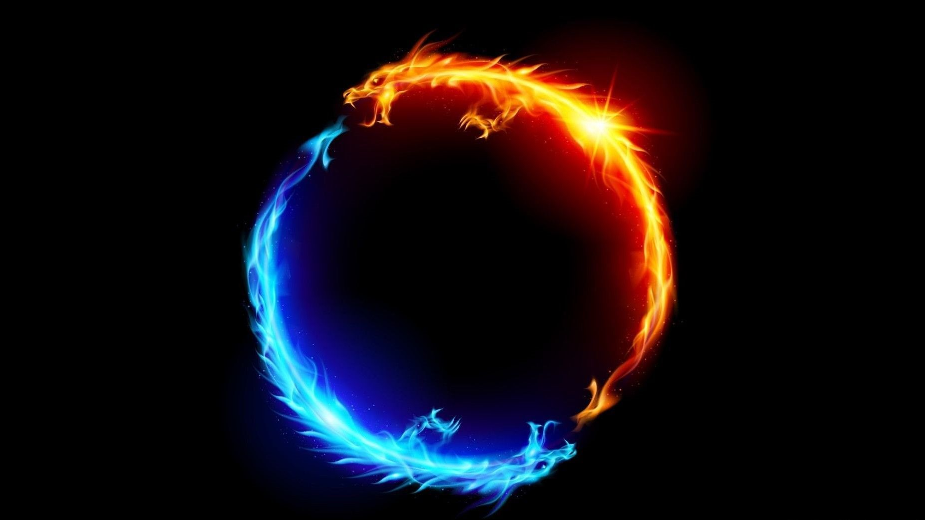 Download Fire And Ice Dragon Wallpaper Top Free Awesome