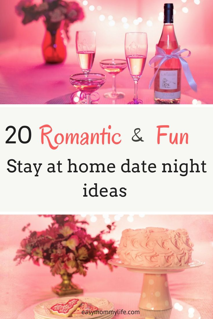 20 Fun Stay At Home Date Night Ideas For Couples | Free printables ...