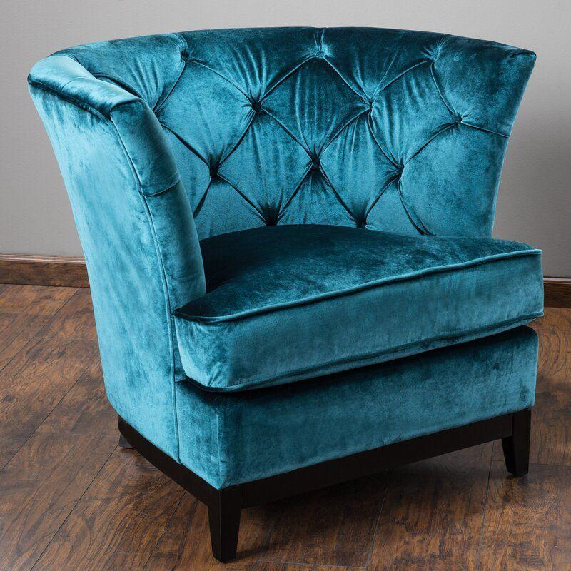 Grajeda 20 barrel chair in 2020 round sofa tufted sofa