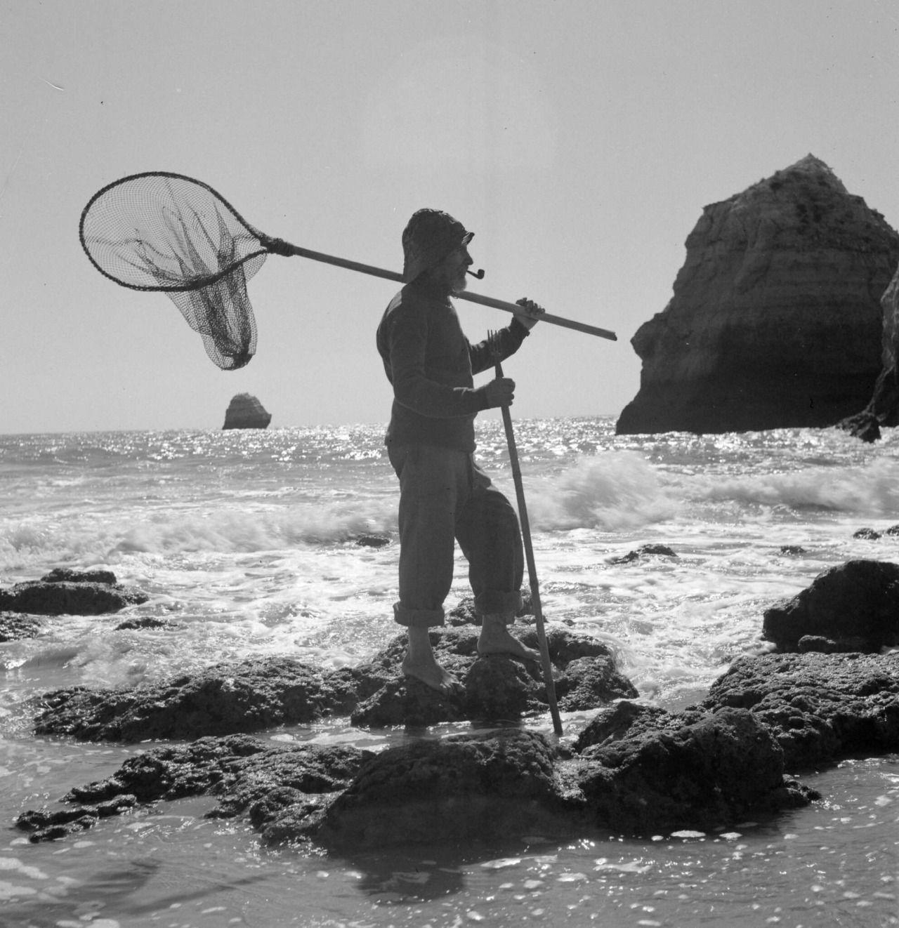 Algarve, Praia da Rocha. 1943/46.