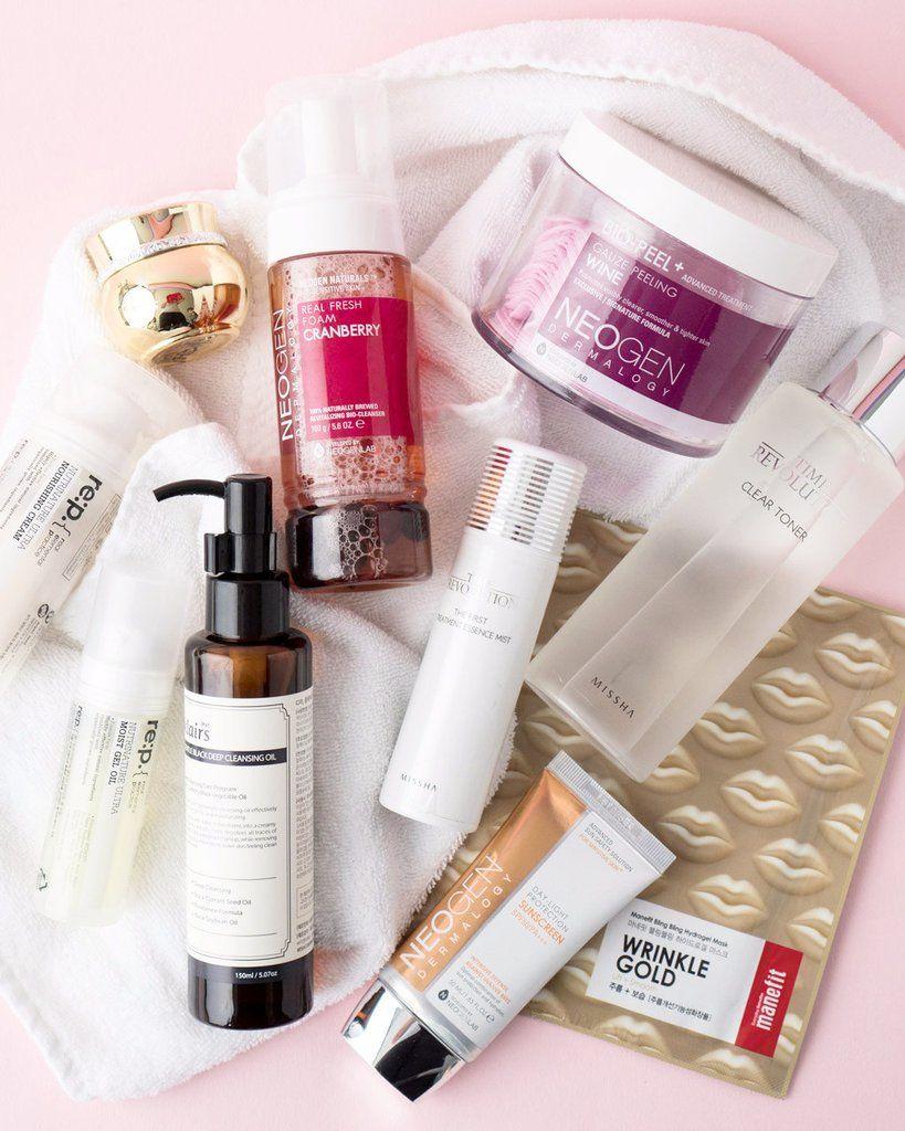 10 Step Korean Skin Care Routine Set For Dry Skin Type Korean Skincare Dry Skin Types Skin Care Steps