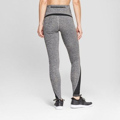 9893ec742ea5c3 Women's Running Mid-Rise Leggings 28.5 - C9 Champion Black Heather Xxl