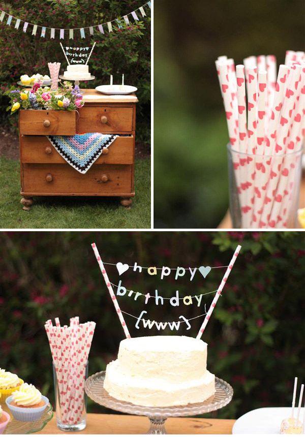 DIY Spring Wedding Inspiration | Birthday cakes and DIY wedding