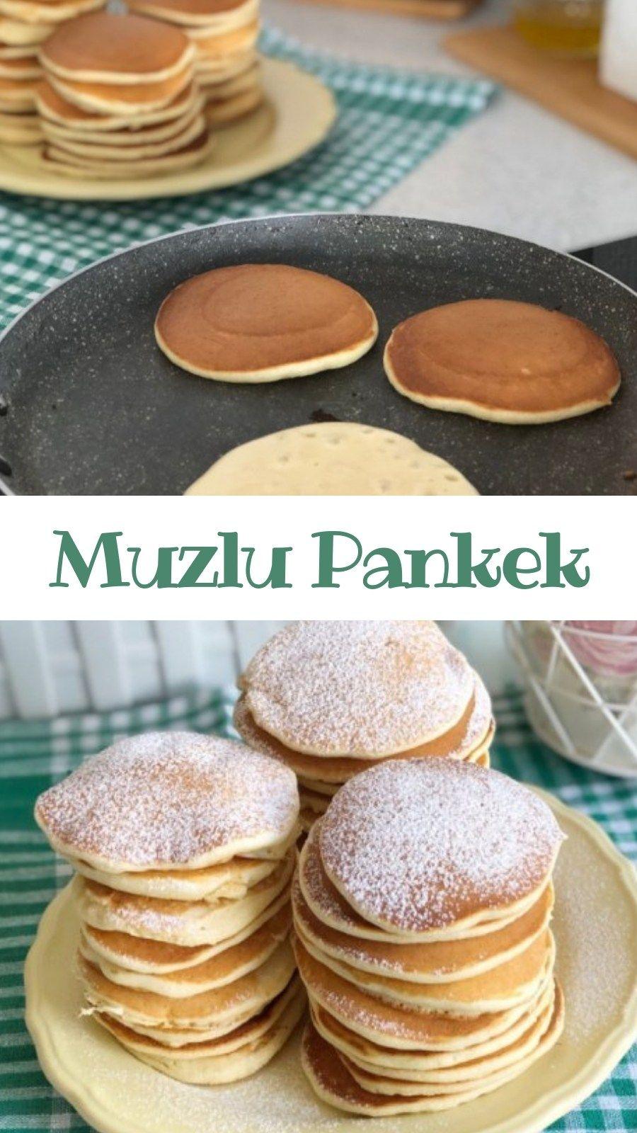 Muzlu Pankek   Nefis Yemek Tarifleri     Yemek tarifleri ...