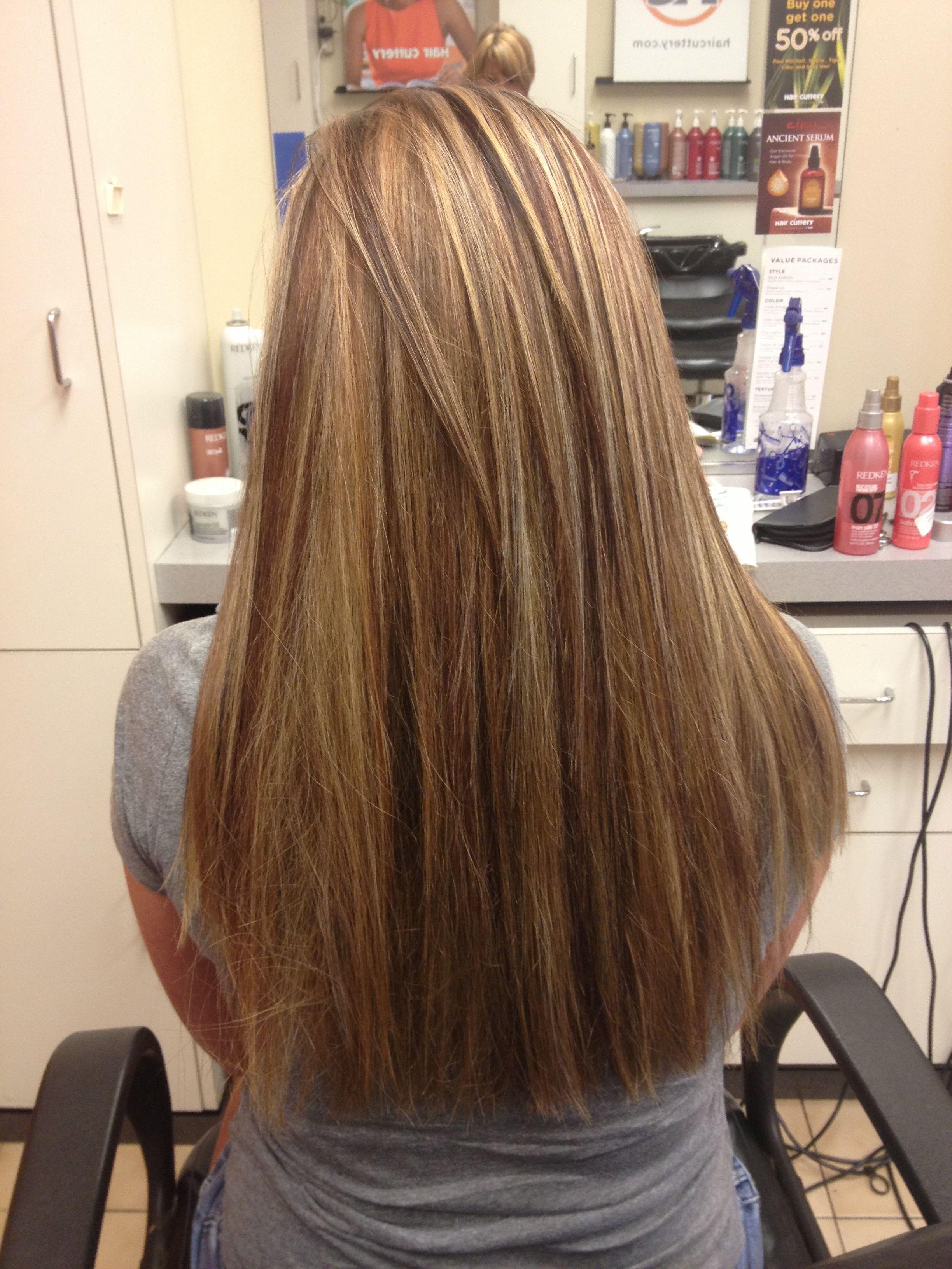 Long Hair Highlights And Lowlights Hair By Meg Stylezbymeg