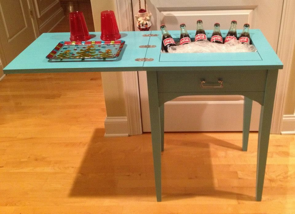 redo of a sewing machine cabinet! | love this!!!! | Pinterest ...