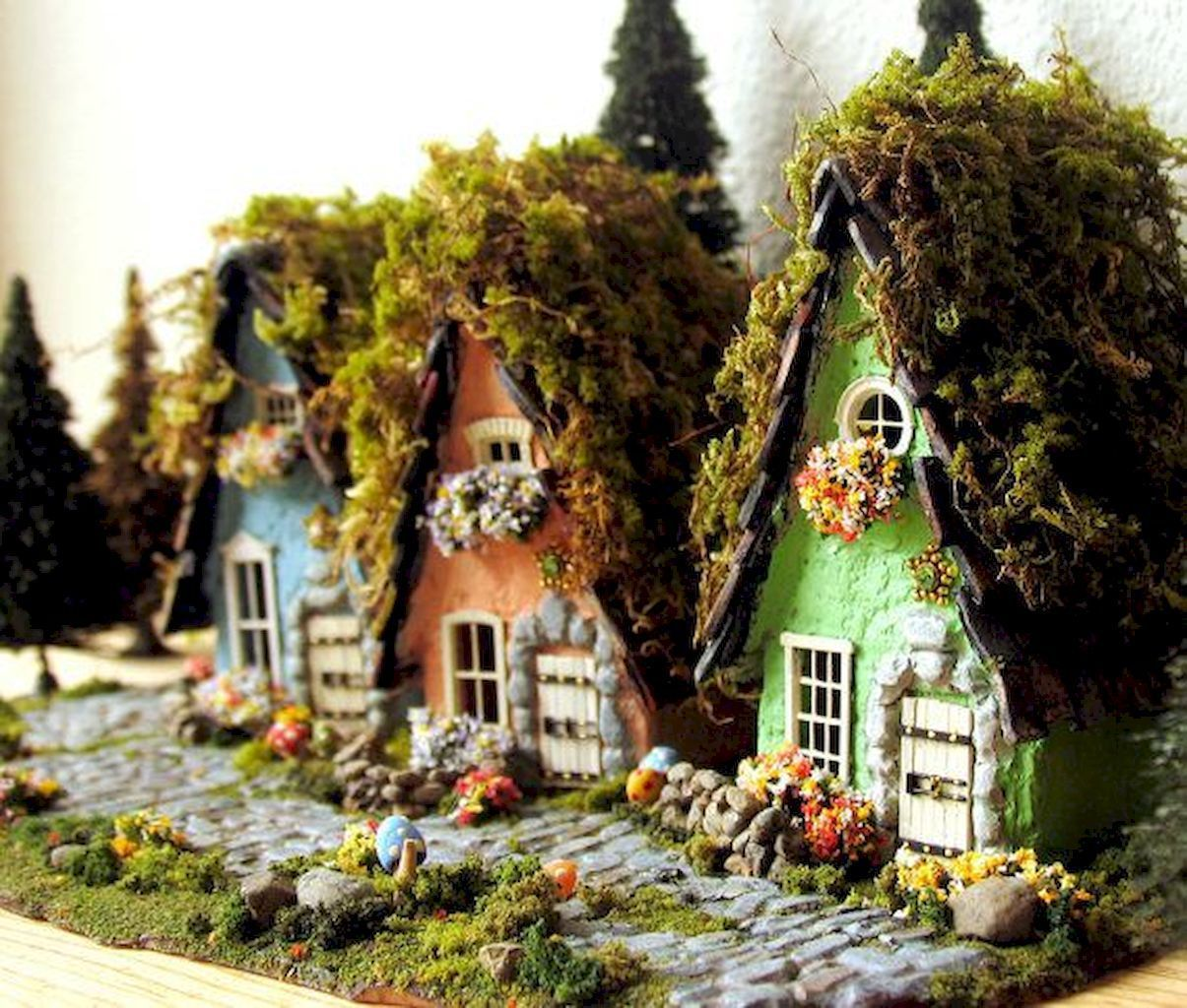 Easy Landscaping Ideas You Can Try: 120 Easy To Try Diy Polymer Clay Fairy Garden Ideas (106