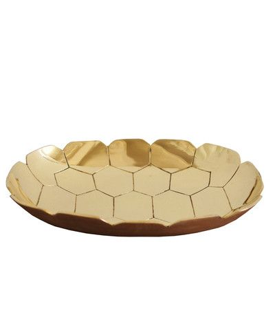 // brass turtle tray