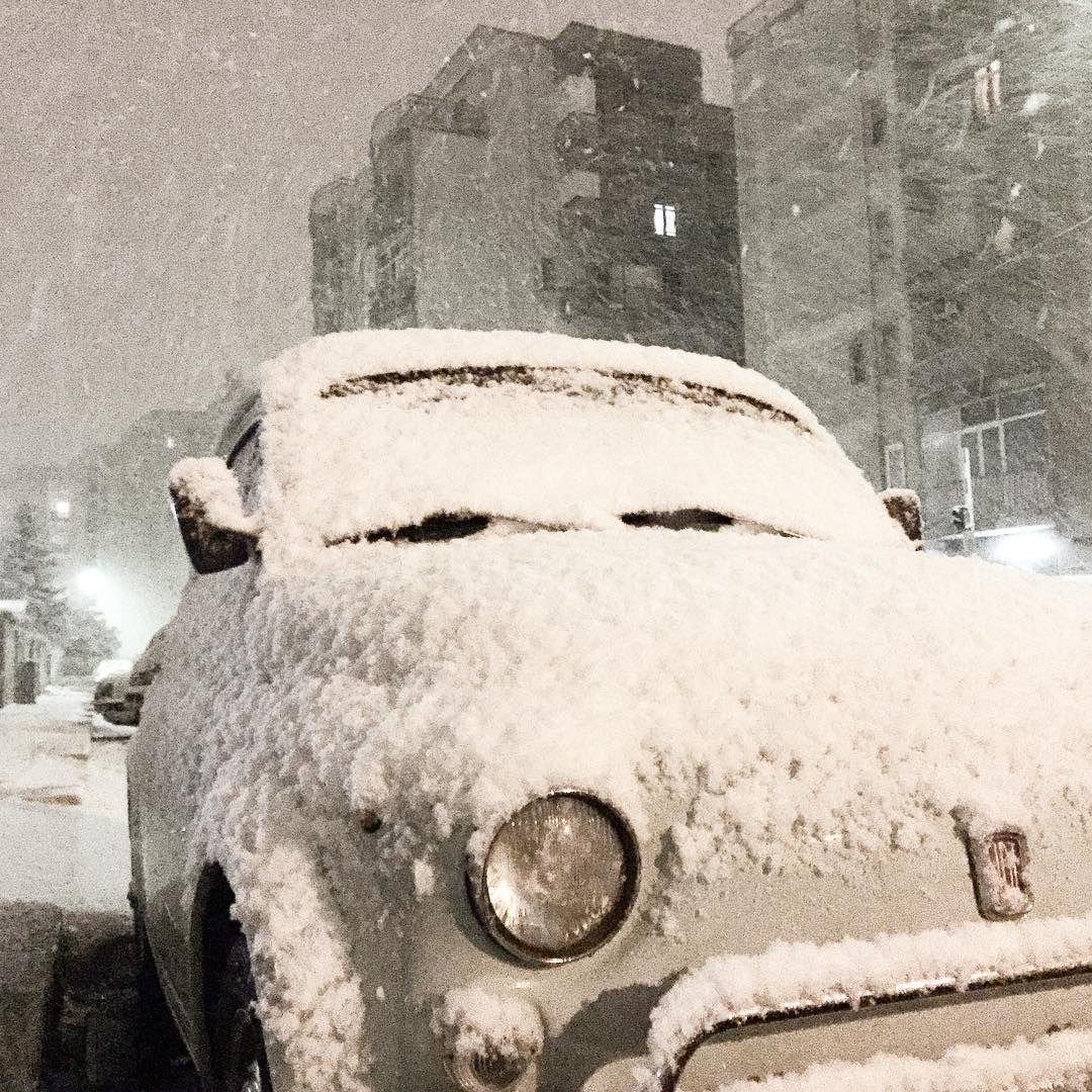 Let it #fiat500 snow!!!
