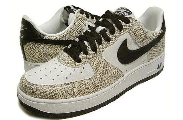 Nike Air Force 1 Low « Cocoa Snake » | Nike air force, Nike