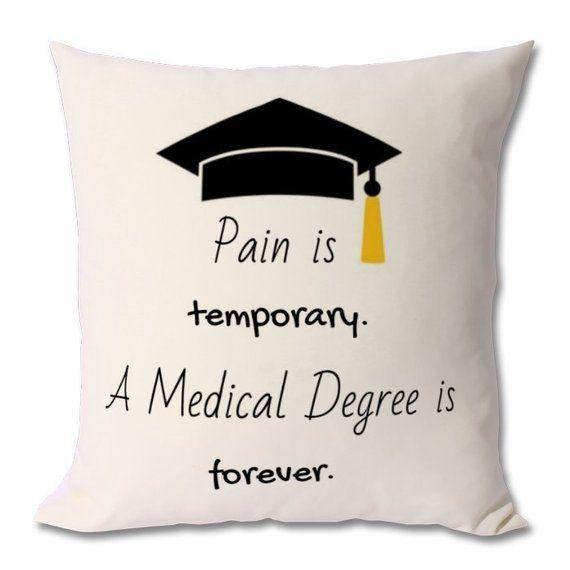 MED SCHOOL motivation cushion, medical student gift,medical student,future doctor,medical school gift,med student gift,medicine student