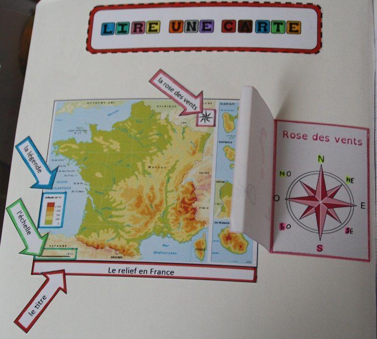 lire une carte ce2 Mon espace proche | Géographie ce2, Géographie cm1 et Ce1