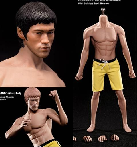 1/6 scale rare hot toys muscle early years action figure