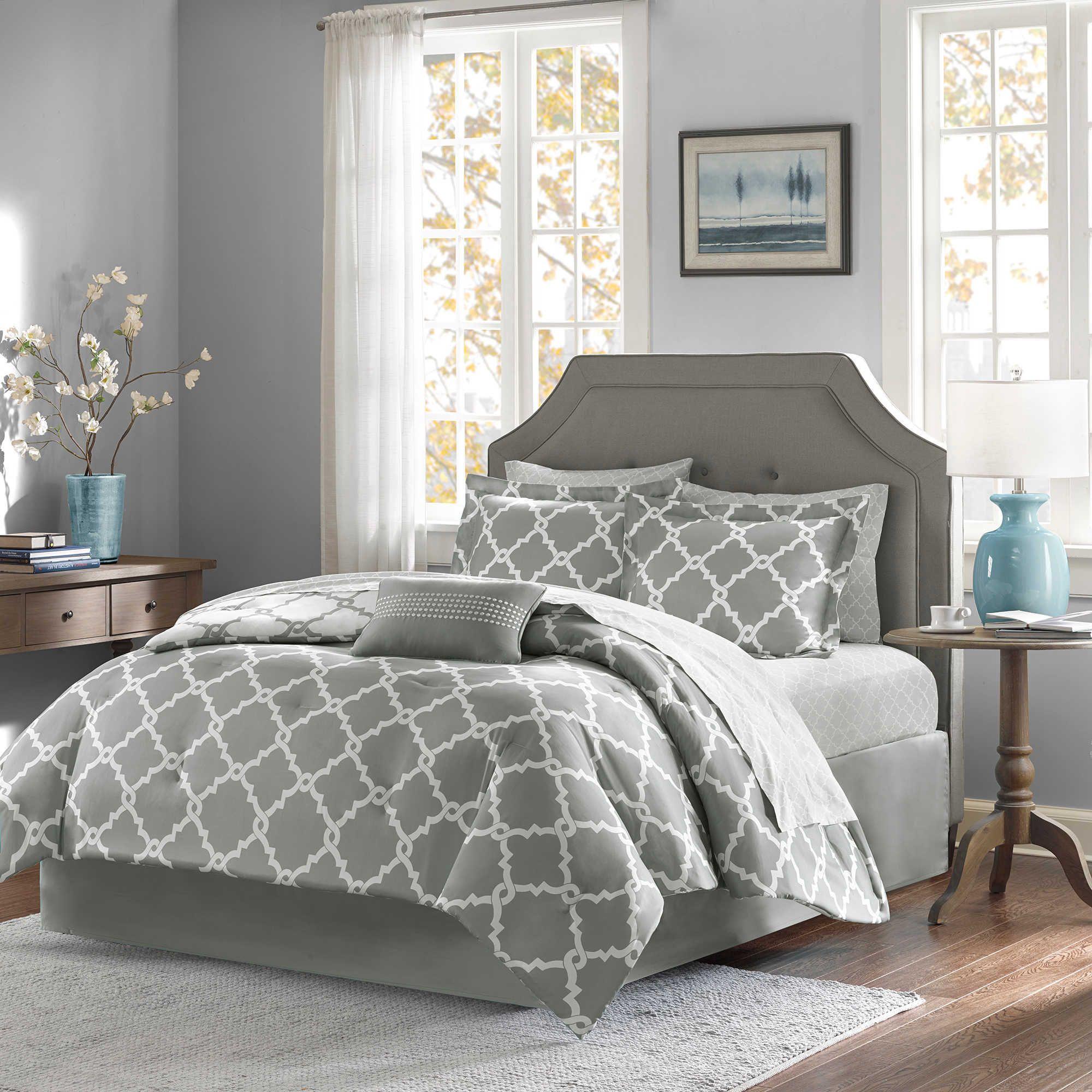 Madison Park Essentials Merritt 9 Piece Reversible King Comforter