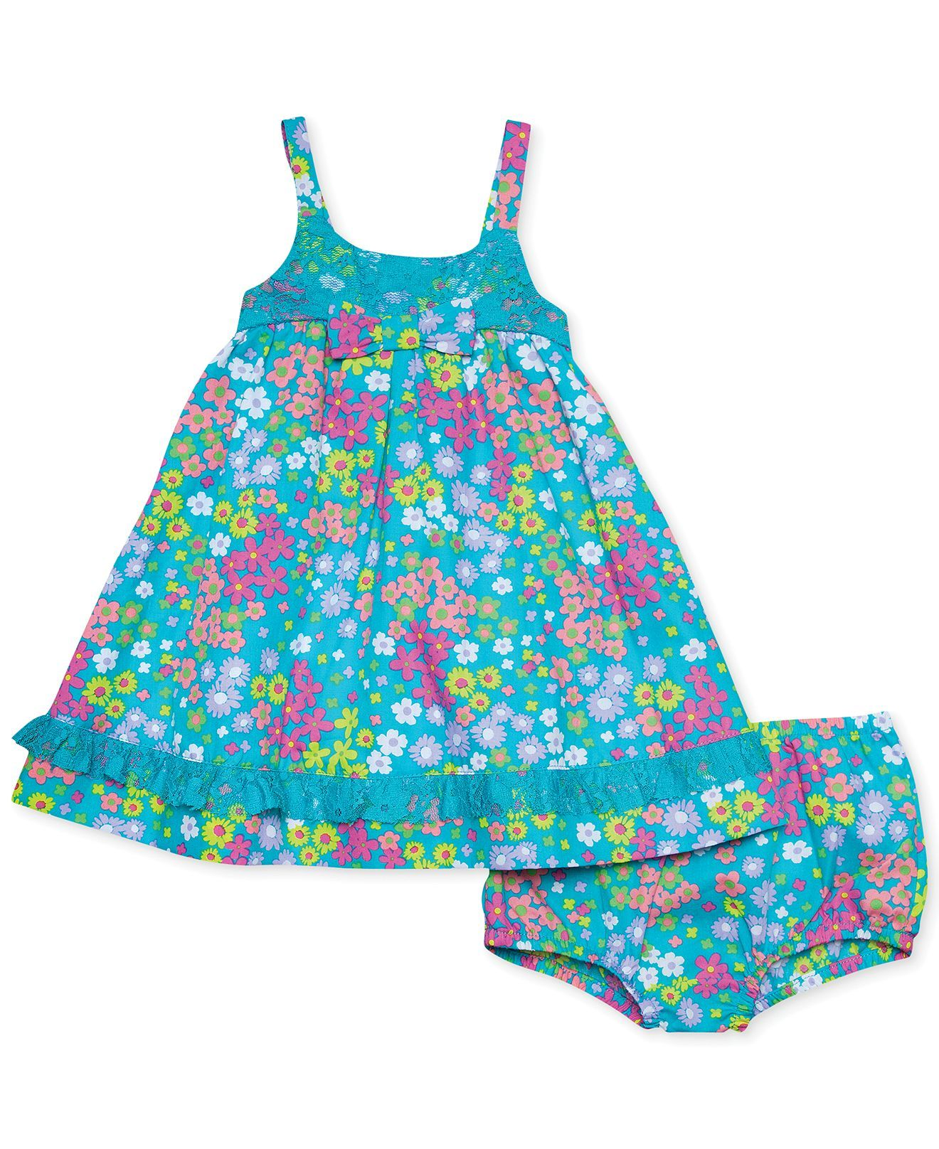 Penelope Mack Baby Girls Floral Dress Kids Baby Girl 0 24 months