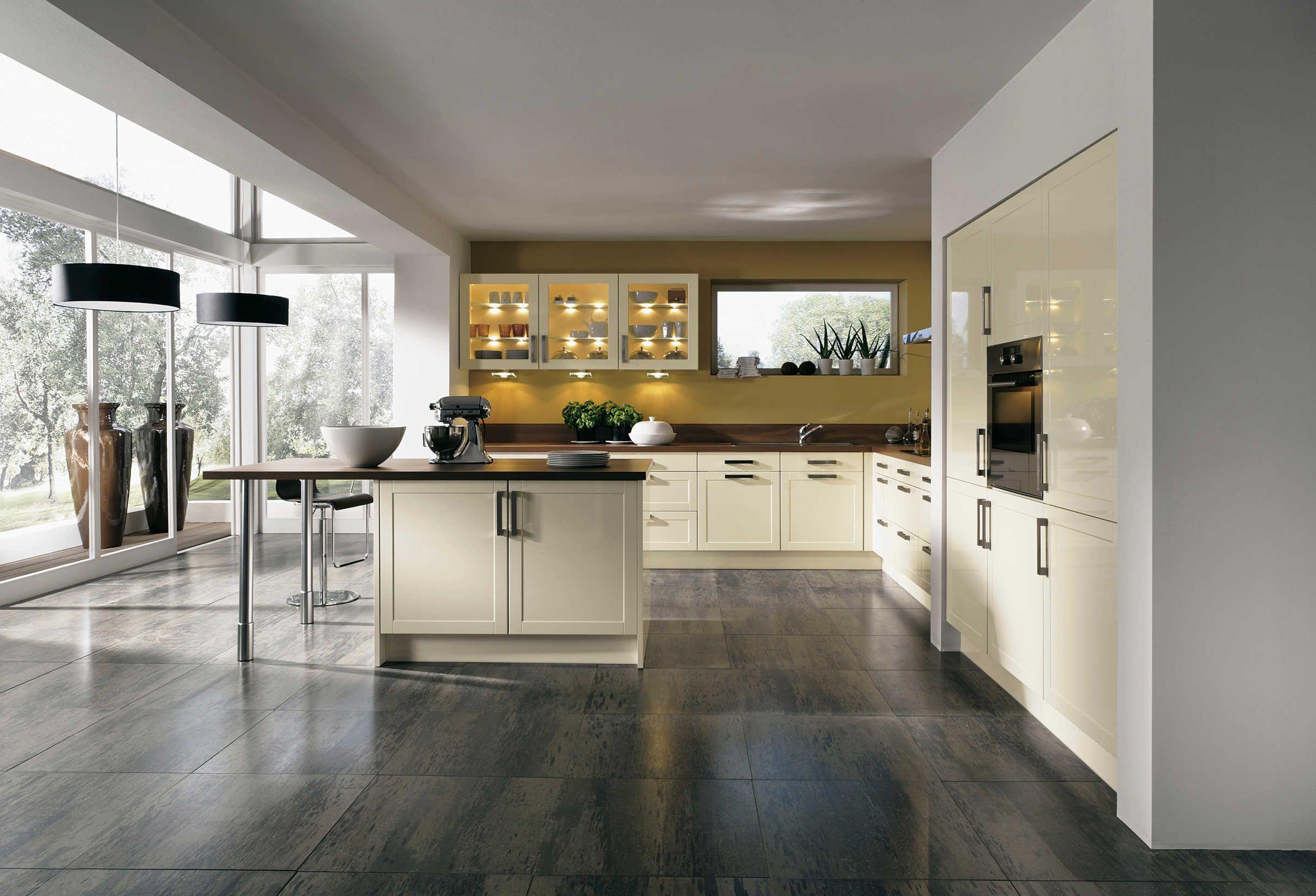 Moderne Küche ...