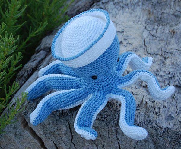 Sailor Octopus amigurumi pattern by Pepika | Amigurumi ...