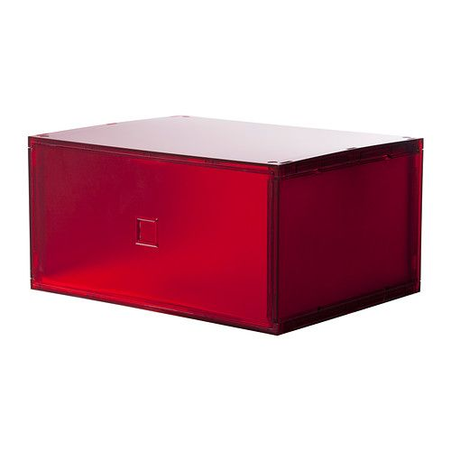 ikea lekman mini commode rouge optimisez l 39 espace dans votre biblioth que ou sur votre. Black Bedroom Furniture Sets. Home Design Ideas