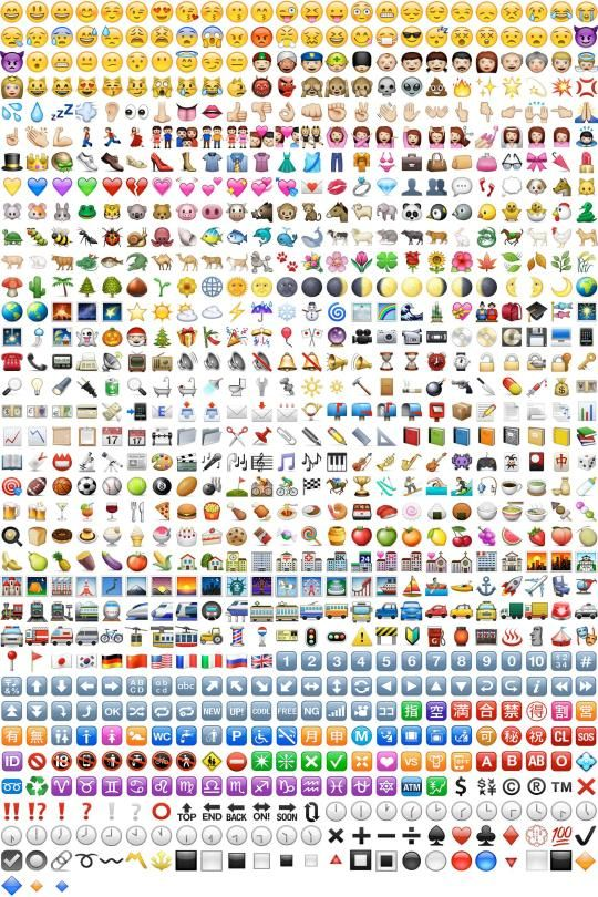 Bunte Symbole Und Bald Sprechen Wir Alle Nur Noch In Emojis Welt Emojis Bunt Ausdrucken