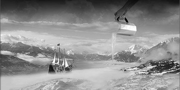 Thomas Barbey photomanipulations