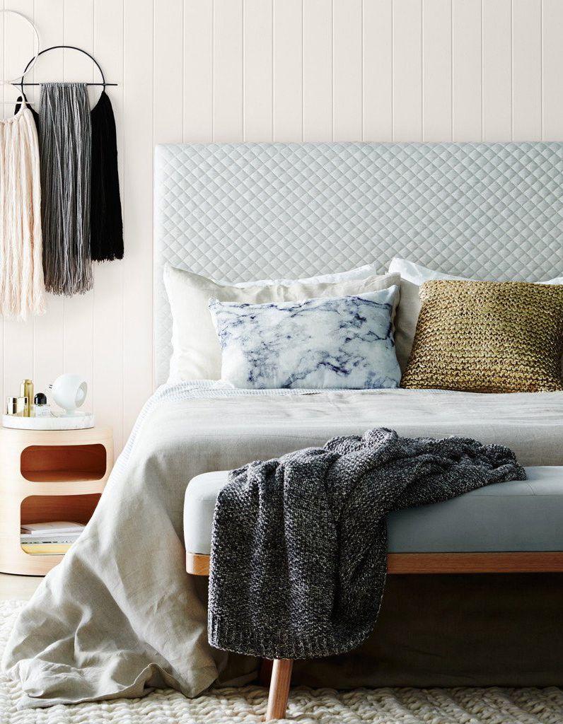 l idee a retenir placer un banc en bout de lit