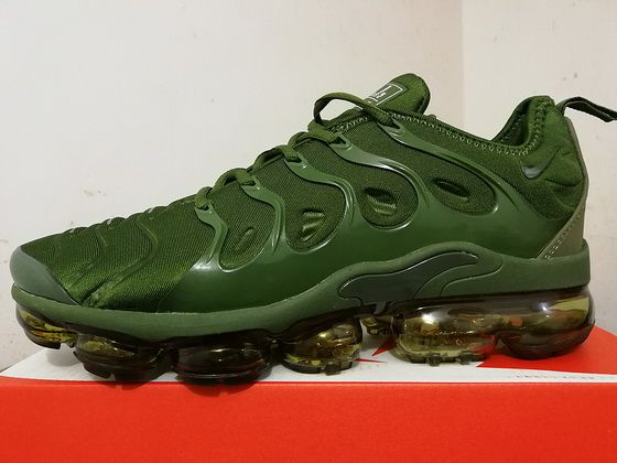 official photos ca481 082b6 Duty-Free Nike Air Vapormax Plus Popular Grass Green Shoe