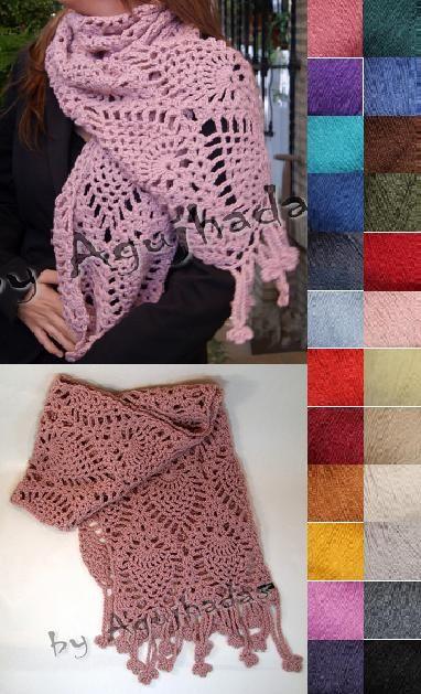 Esta es la variedad de colores que podeis elegir para la bufanda de ...