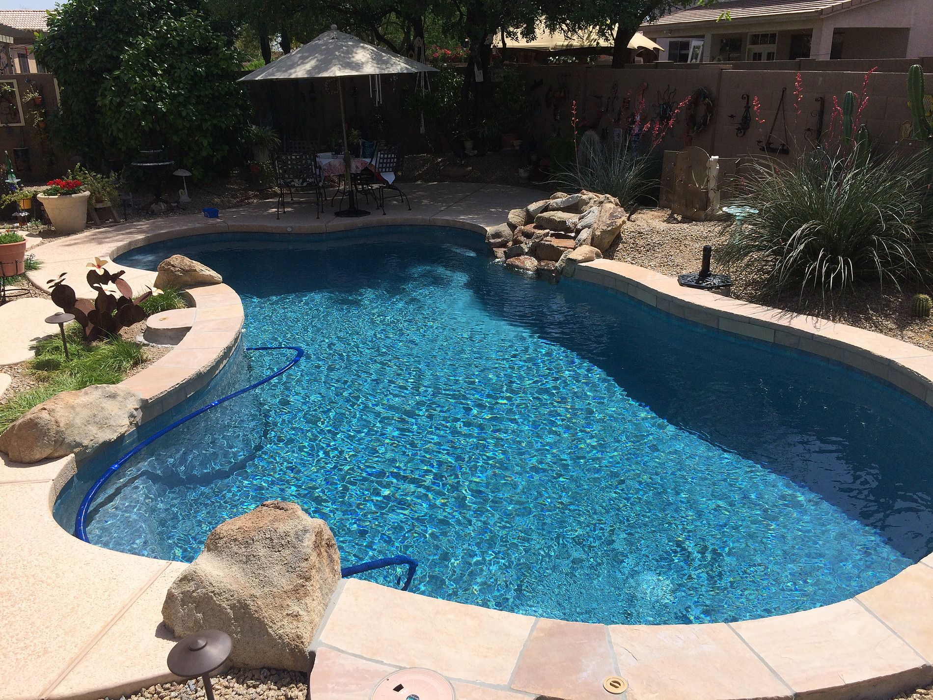 Pool Remodel Phoenix Delectable Swimming Pool Service & Repair Phoenix Az Before And After Pool . Design Ideas