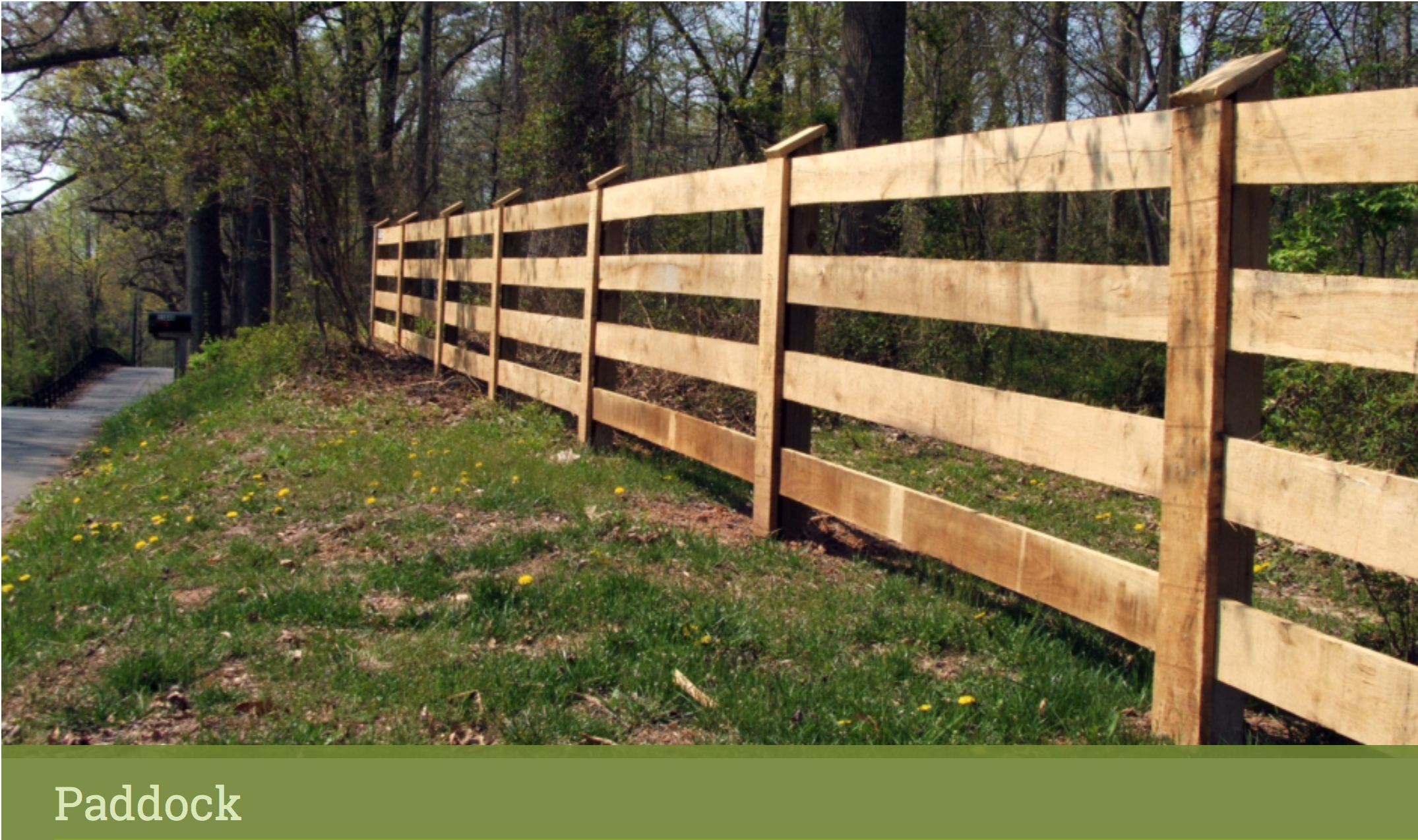 Https Www Longfence Com Residential Fence Wood Paddock With Images Wood Fence Paddock