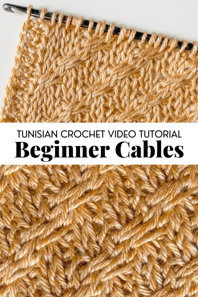 Photo of Beginner Tunisian Crochet Cables [VIDEO TUTORIAL]