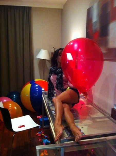 Balloon girls and inflatables
