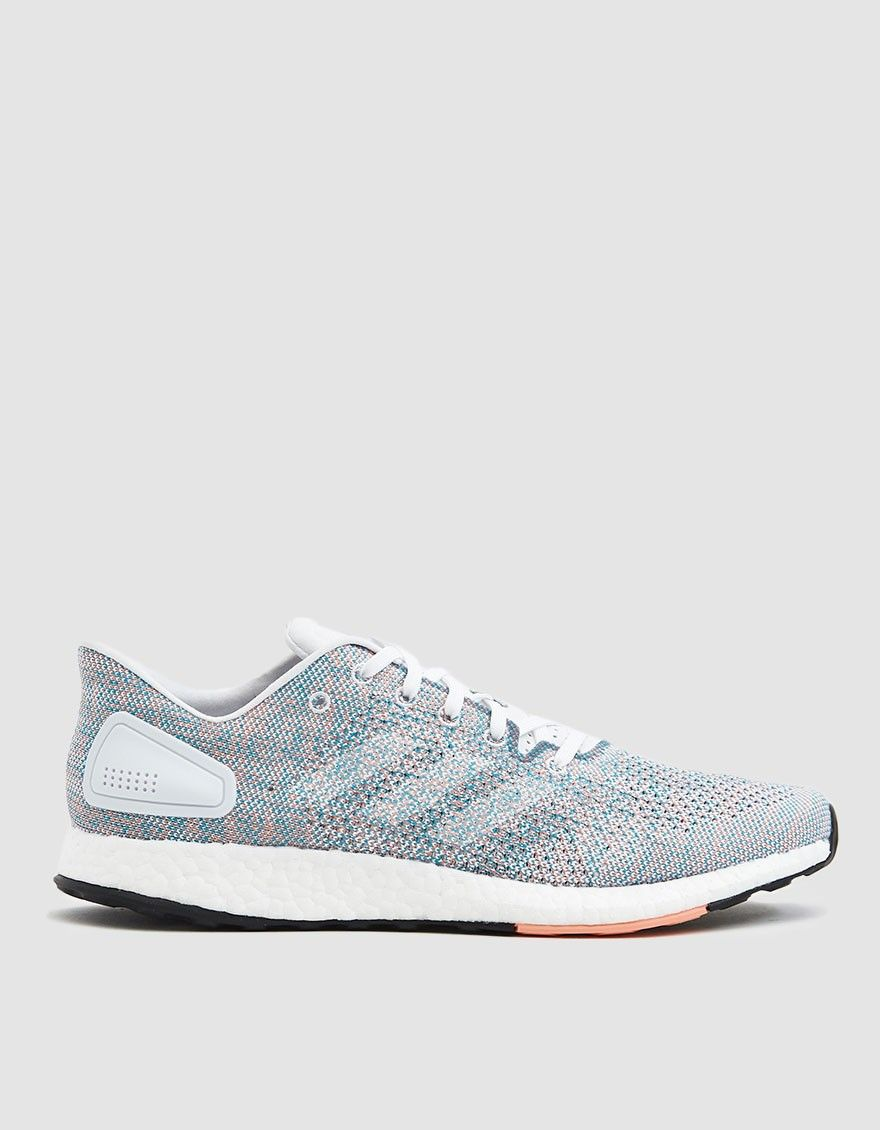 Adidas Pureboost Dpr Sneaker In Chalk Adidas Pure Boost Sneakers Shoes
