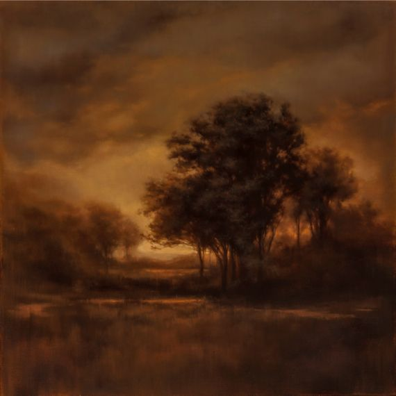 New for Boston International Fine Art Show 2014. By Darlou Gams, Titled; Warm Tonal, 30 x 30. http://bowersockgallery.com/Garlou-Gams