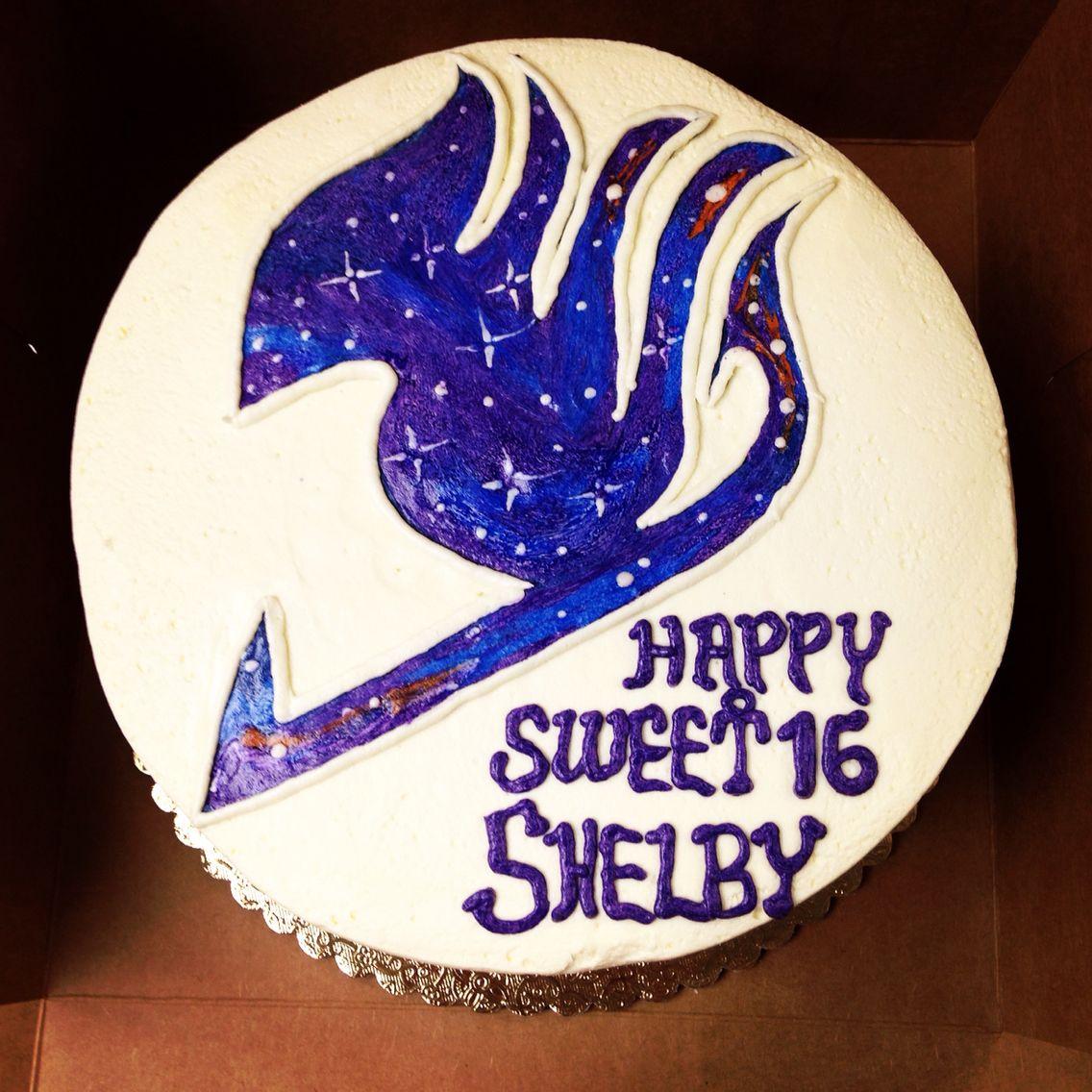 Fairy Tail Anime Cake