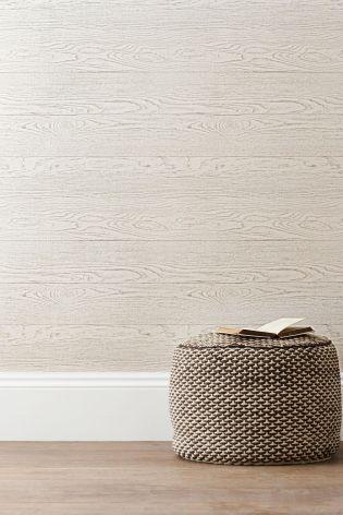 Tactile Wood Effect Wallpaper