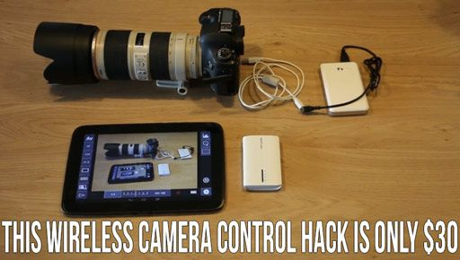 This Wireless Camera Control And LiveView DIY Hack Is Only
