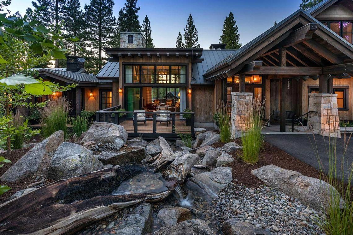 Pending Home 518 Martis Camp Rusticloft Wooden House Design Mountain Home Exterior Modern Mountain Home