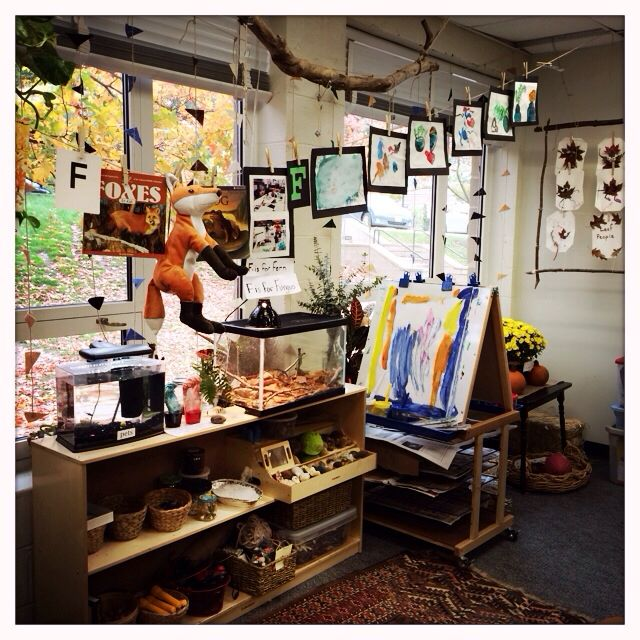 Natural Classroom Design : My reggio emilia inspired classroom all set for open