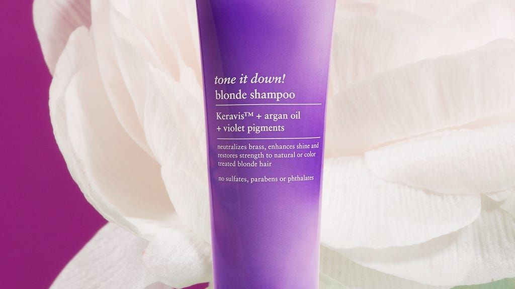 shampoo to remove brassy tones from brown hair