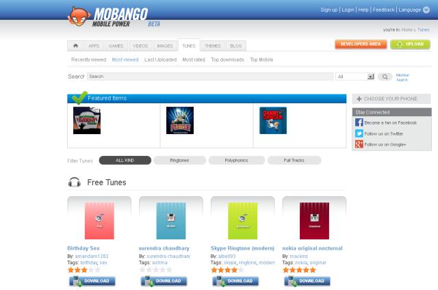 free ringtone downloads app