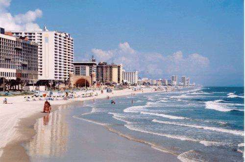 Driving Down The Beach In Daytona Florida I Lived For About