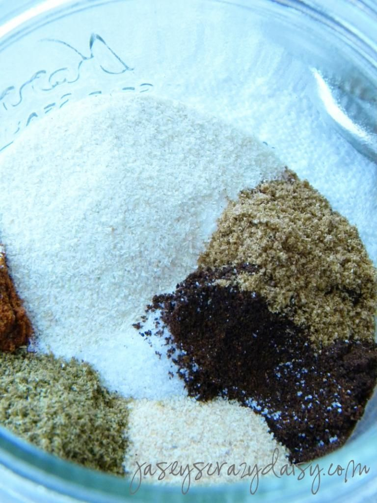 Homemade Fajita Seasoning #homemadefajitaseasoning Homemade Fajita Seasoning - Jasey's Crazy Daisy #homemadefajitaseasoning