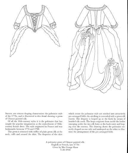 Historical Fashion in Detail, 17-18 centuries. Part IX - Tern - Picasa Web Albums