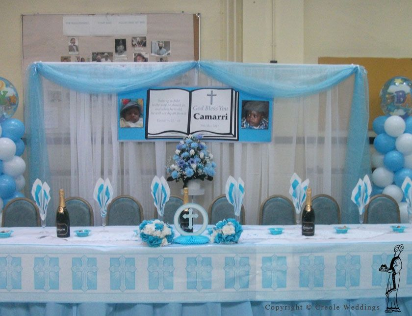 Baptism party ideas bing images aidan 39 s baptism 2013 for Baby dedication decoration ideas